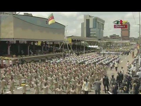 CAMEROON 45th NATIONAL DAY - DÉFILÉ CIVIL ET DE PARTIS POLITIQUES - Samedi 20 Mai 2017