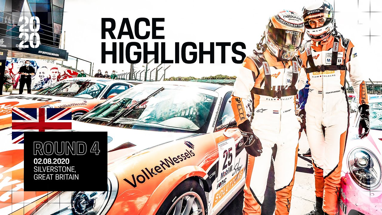 Race Highlights Silverstone, Round 4, Porsche Mobil 1 Supercup 2020
