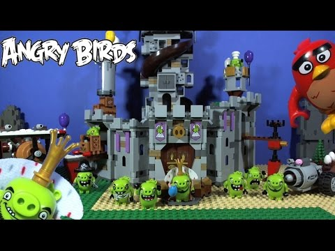 Lego Angry Birds King Pigs Castle 75826 Youtube