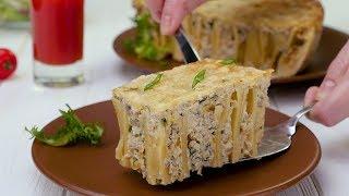Как приготовить макаронную запеканку с сыром Рецепты от Со Вкусом
