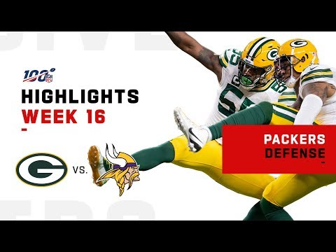 Packers Defense Takes Control W/ 5 Sacks | NFL 2019 Highlights