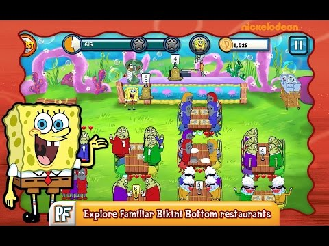 SpongeBob Diner Dash Free For Android Gameplay