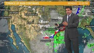 San Antonio: Keep an eye this Tropical disturbance near Mexico