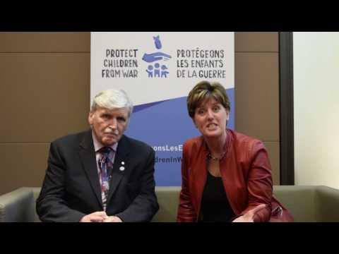 Min Bibeau & Lieutenant-General Roméo Dallaire on Canada