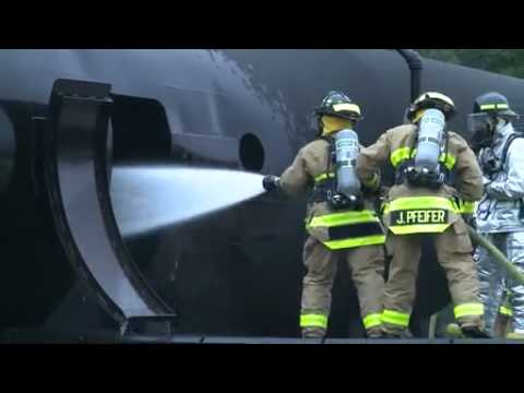 Video: Nebraska Army National Guard Firefighters Train at 2015 Patriot Exercise