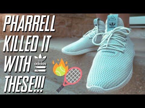 Pharrell Williams Tennis Hu | Sneaker Review + On Feet