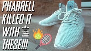 Pharrell Williams Tennis Hu | Sneaker Review + On Feet
