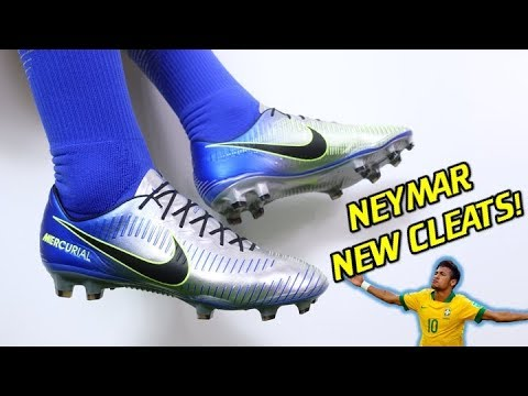 cb6f86a07193 NEYMAR S NEW CLEATS WITH NEW UPPER! - Puro Fenomeno Nike Mercurial Vapor 11  - Review + On Feet