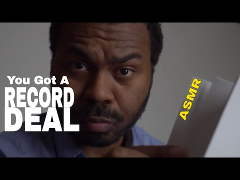 "Record Label Roleplay ASMR ""Signing A Record Deal"" 