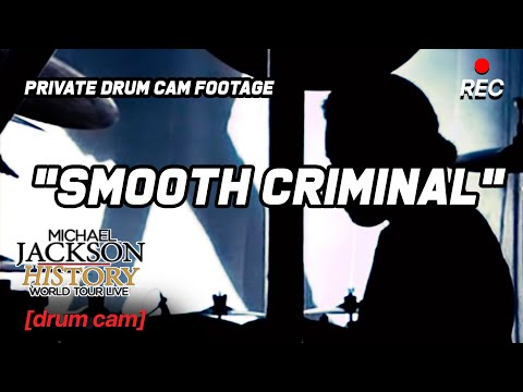"""Smooth Criminal"" Sugarfoot DRUM CAM Edited Version - HIStory Tour"