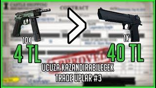 #3 Ucuz ve Kazandırabilecek Trade Uplar! CSGO Trade Up