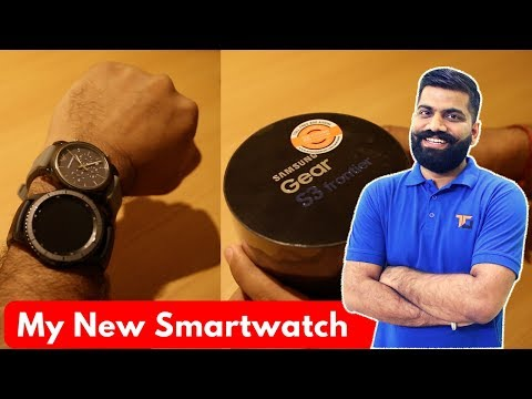 My New Smartwatch - Samsung Gear S3 Frontier Unboxing