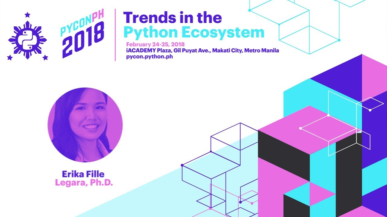 Image from PyCon PH 2018 Erika Fille Legara Ph.D. - Why Python in Scientific Research