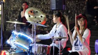 2014 03 23 爵士鼓 陳曼青 + 羅小白 - Moves like jagger
