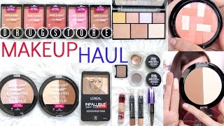 Drugstore Makeup Haul 2016 | Beauty with Emily Fox