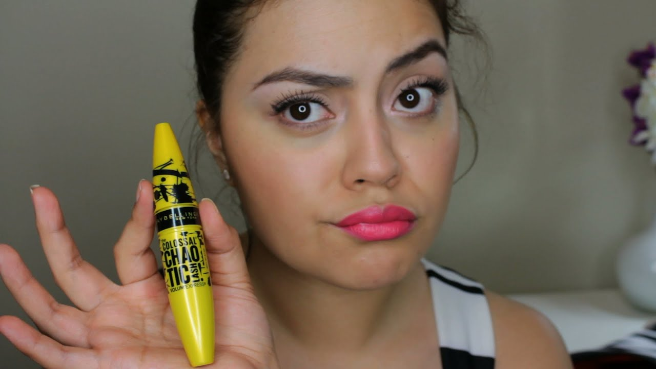 53fc0ee4003 NEW Maybelline Volum' Express The Colossal Chaotic Lash Mascara Review