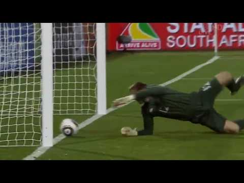 Wc England Vs Usa 1 1 Clint Dempsey Goal Robert Green