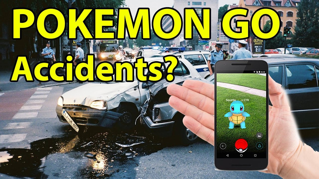 Image result for accident by pokemon go