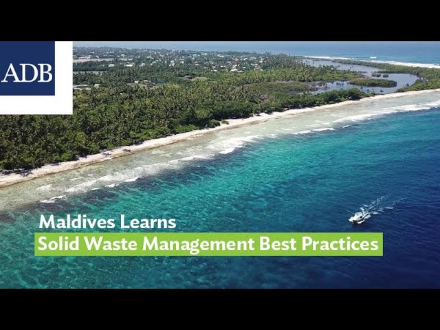 Maldives Learns Solid Waste Management Best Practices and High-Level Technology from Japan