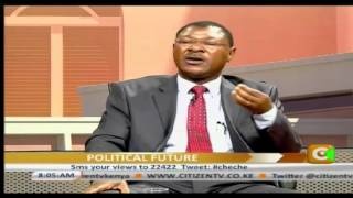 Cheche With Senator Moses Wetangula
