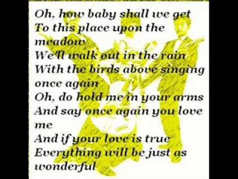Lover's Concerto (With Lyrics) - YouTube