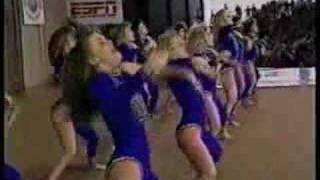 Memphis State 1989 Dance Team