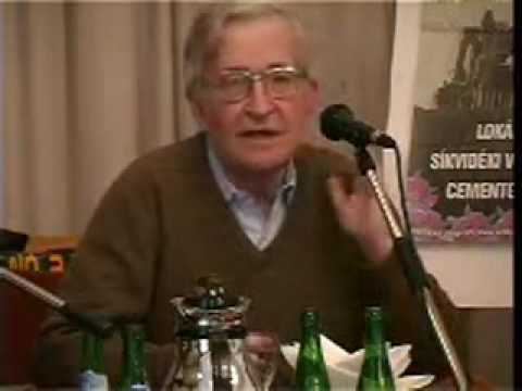 Noam Chomsky Debunks 9/11 and JFK Murder