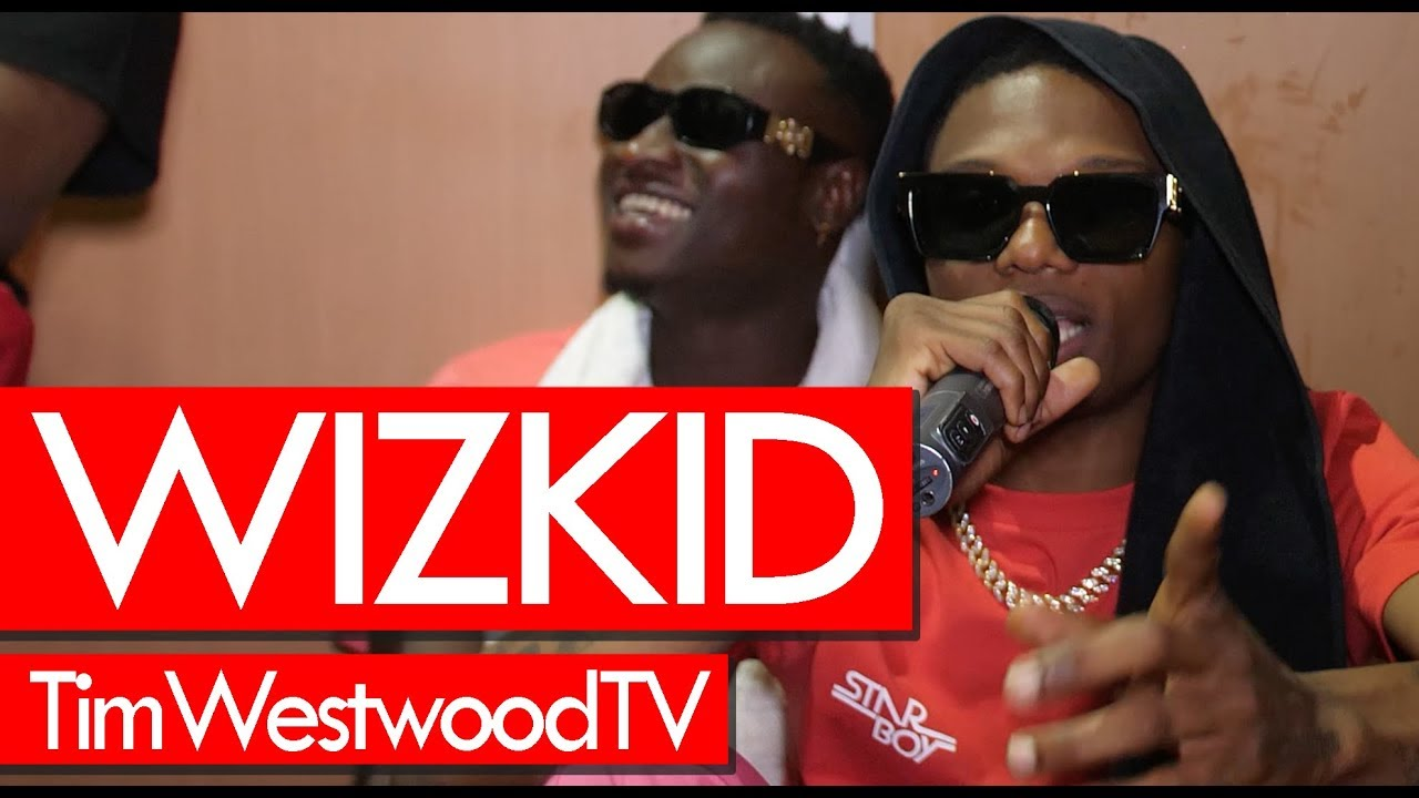 Wizkid exclusive backstage at Afro Nation festival! Westwood