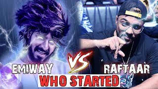 KHATAM FINAL REPLY - EMIWAY VS RAFTAAR BIGGEST DRAMA (Kisne Shuru Kiya?)