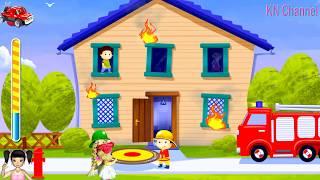 BabyBus - Tiki Mimi và  trò chơi bé tập làm lính cứu hỏa