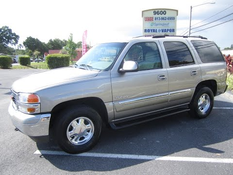SOLD 2002 GMC Yukon SLT 93K Miles One Owner Meticulous Motors Inc Florida For Sale