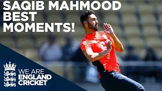 Saqib Mahmood - England's Bowling Sensation | Best Moments So Far | England 2019