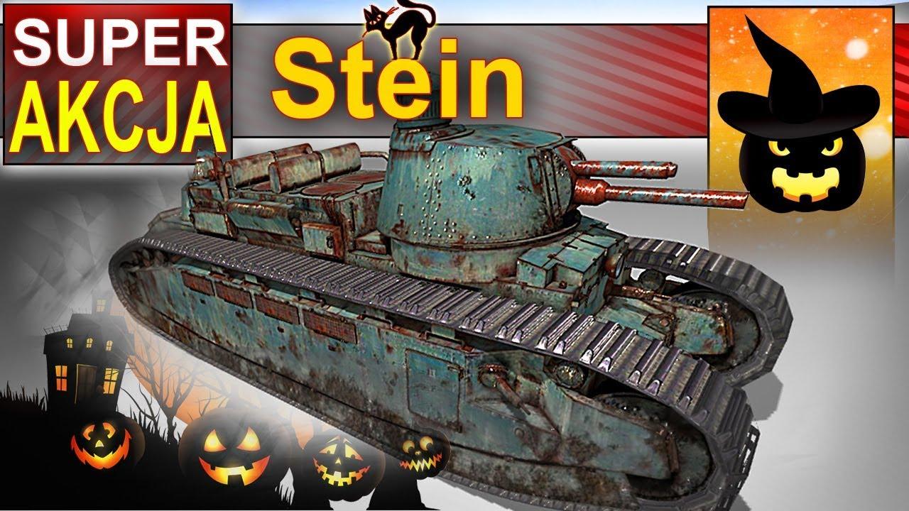 Stein – 16 000 dmg i niecodzienna taktyka – BITWA – World of Tanks