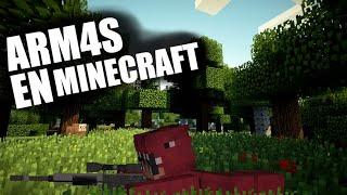 Cómo tener 🔫**ARM4S**💣 en Minecraft / A.V.A / 1.16.4 /