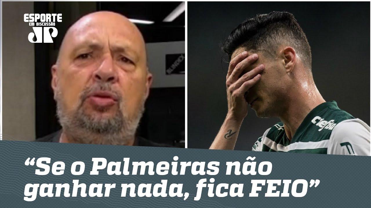 """""""Se o Palmeiras não ganhar nada, vai ficar FEIO!"""", dispara narrador"""