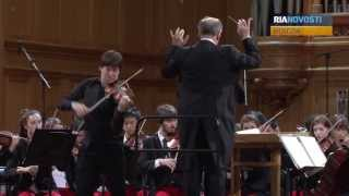 US National Youth Orchestra Joshua Bell And Valery Gergiev Play Tchaikovsky In Moscow