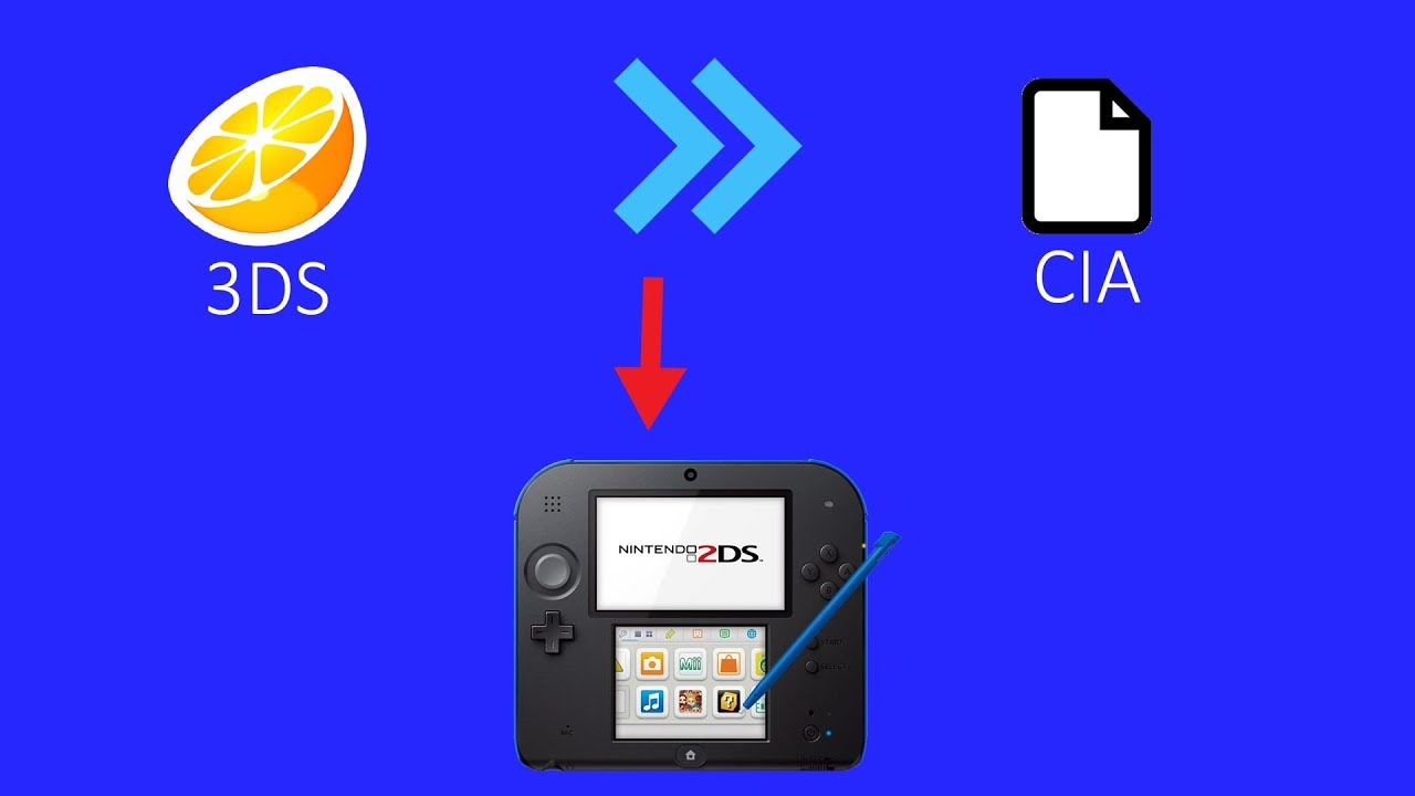 How To Convert Any 3DS Citra Playable File Into a Playable Cia CFW Users  Only Plus Bouns Information by kaiangel7