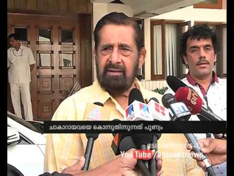 Madhu (actor) responds on beef ban and  writers to take back awards