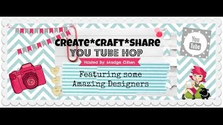 Create Craft Share YouTube Hop March 2016 Craft Room Organization