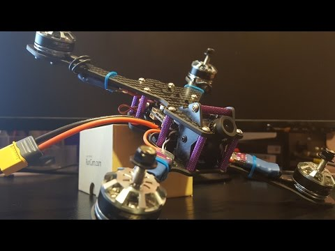 How to build FPV Freestyle Drone // XY215 , Diatone D-Silver