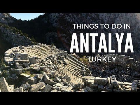 Things to do in Antalya, Turkey.