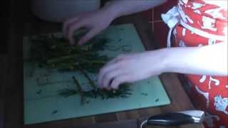 How To Make Ribbon Pasta With Spring Veg And Cream Sauce