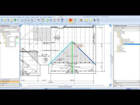 Active Takeoff - Measuring a Roof from a Plan View by Active