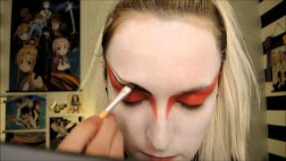 Kyoshi Warrior Makeup Tutorial