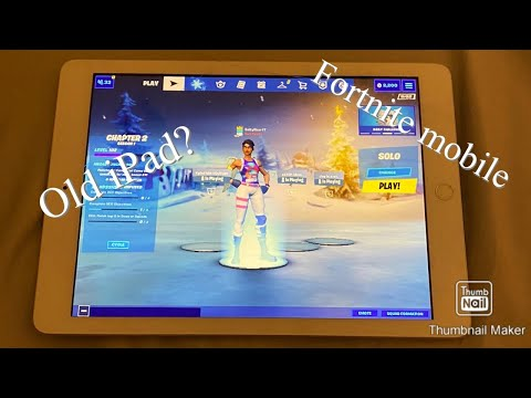 Trying To Play Fortnite Mobile On My Old IPad
