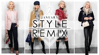 JANUARY STYLE REMIX | RESTYLING YOUR WINTER WARDROBE | NEW FASHION SERIES