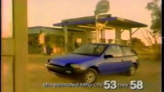 1989 Geo Metro Commercial YouTube