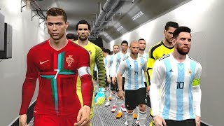 Argentina vs Portugal | Fifa World Cup 2018 Gameplay
