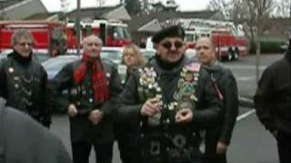 Patriot Guard Riders - Spikes Swearing In