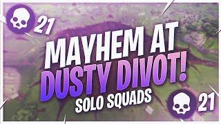 TSM Kraftyy - MAYHEM AT DUSTY DIVOT! SOLO SQUADS (Fortnite BR Full Match)